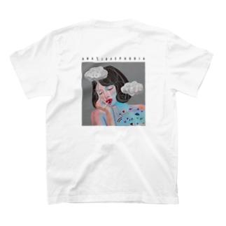 アヒルに見つめられることに対する恐怖症 / simple / for light color T-shirts