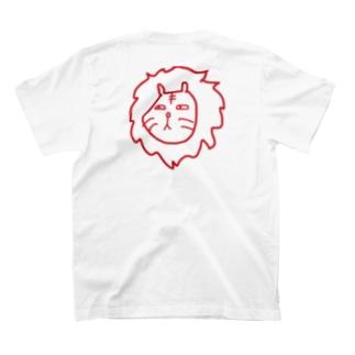 とらいおん。(あか) T-shirts