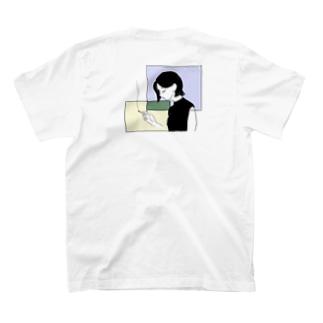 smoking girl Tシャツ T-shirts