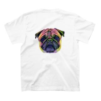 パグ イラスト T-shirts