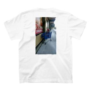 Abandoned Shopping Carts(バックプリント) T-shirts