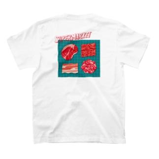 スーパーマーケット:肉 T-shirts
