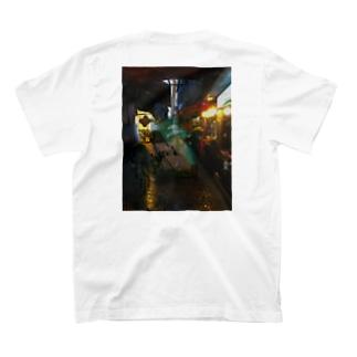 台湾裏路地バックプリントT T-shirts