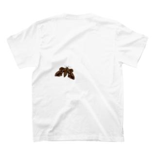 蛾とまってね?(小) T-shirts