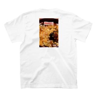 MASSAMAN&Co.のたまごかけごはん T-shirtsの裏面