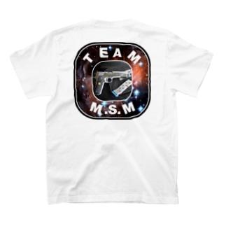 元専務公式『TEAE M.S.M』グッズ T-shirts