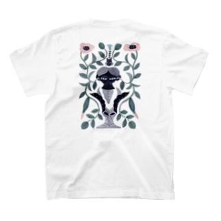「きいて」 両面プリント T-shirts