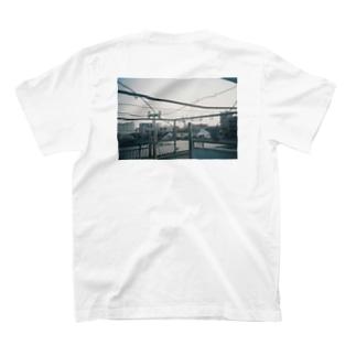 螺旋階段上の天国 バックプリント T-shirts