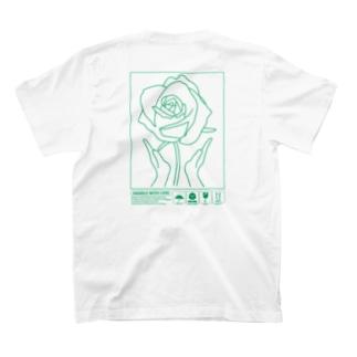花を愛でる T-Shirt