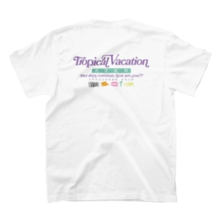 【漢字】熱帯休暇【中国語】短色々 T-shirts