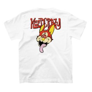 NATUのKEEP CRAZY T-shirtsの裏面