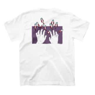 ロケットフィンガーッッッ!!!!!! T-shirts