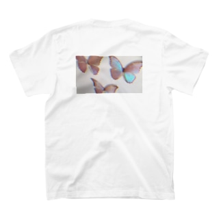 ちょうちょ(グリッチ) T-shirts
