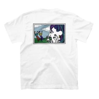 遠近法写真 透け透け T-shirts