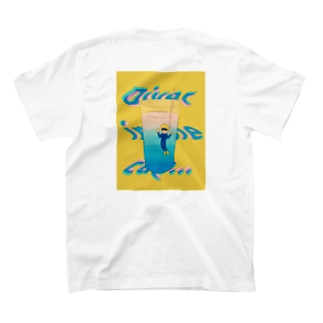 Diver in the cup T-shirts