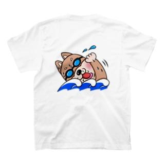 ふりそざやショップのスイマー・マルシバくん T-shirts