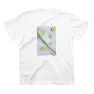 長ネギレモン背面 T-shirts
