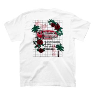 スムージー-冰沙-方眼紙【漢字】【中国語】 T-Shirt