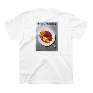 TIPS & TRICKSのワタリガニのブイヤベース<バックプリント> T-shirts