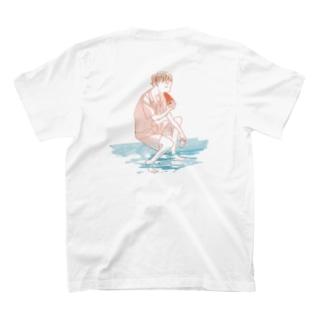 スイカ(バックプリント) T-shirts