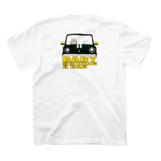 BABY DRIVING A CAR 2 T-shirts