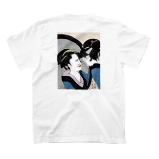 喜多川歌麿パロディ T-shirts