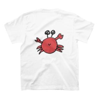 おカニちゃん おかわり T-shirts