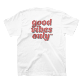 𝒈𝒐𝒐𝒅 𝒗𝒊𝒃𝒆𝒔 𝒐𝒏𝒍𝒚 🎱のGVO T-shirtsの裏面