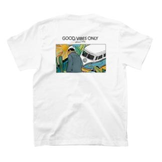 ワーゲンバス (バックプリント) T-shirts