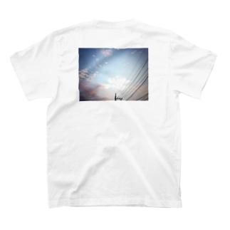 三日月Tシャツ(背面) T-shirts
