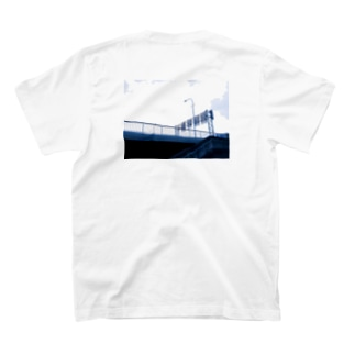 標識の裏側Tシャツ(背面) T-shirts