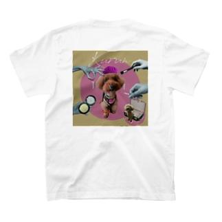 メイクアップドッグ Tシャツ T-shirts
