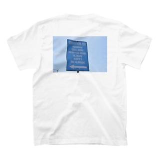 道路標識 T-shirts