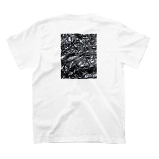 hasdesの(back print)aluminium na hasdes T-shirts