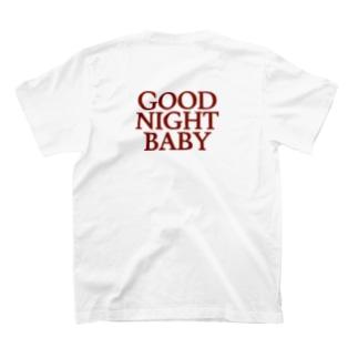 GOOD NIGHT BABYのGOOD NIGHT BABY logo tee T-shirts