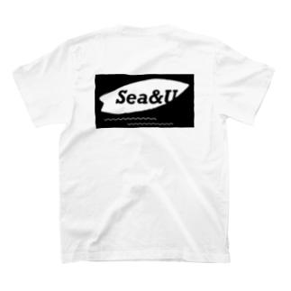 ふじもとみむのSea&U T-shirts
