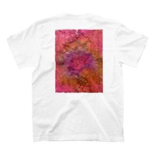 ピンクに埋まろう T-shirts