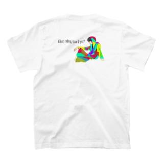 カラフルな人 T-shirts