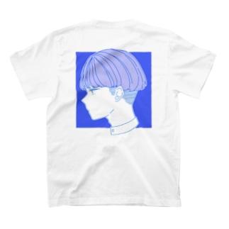 ブルーの子 T-shirts