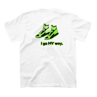 no't buyのkicks T-shirts