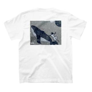 鯨と私 T-shirts