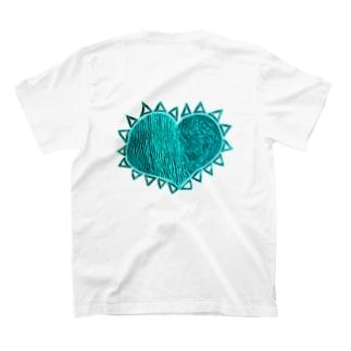 『理性 感情 防衛 無防備』 NEGA T-shirts