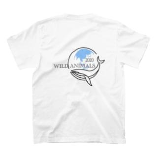 Tシャツ [Wild Animals公式] クジラ T-shirts