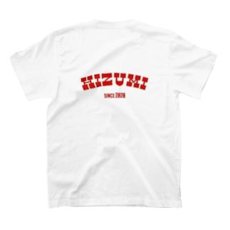 背面 HIZUMI 2020 T-shirts