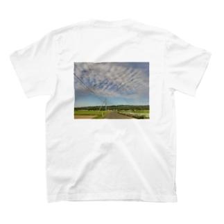 田んぼ道 T-shirts