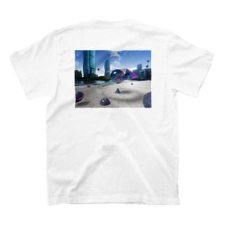初めて3DCG作った記念 T-shirts