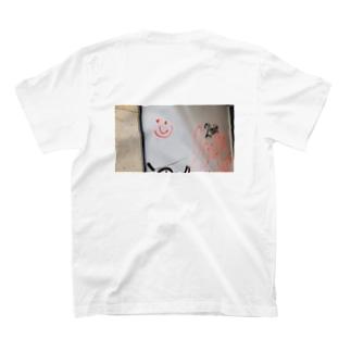 スペイン笑顔落書きフォト T-shirts