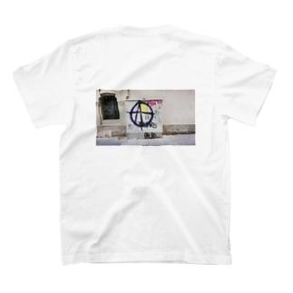 スペインアナーキー落書きフォト T-shirts