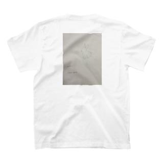 rilybiiのアンティーク風*うさぎ T-shirts