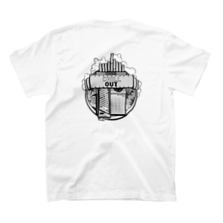 Nurando cigarette Logo / back T-shirts